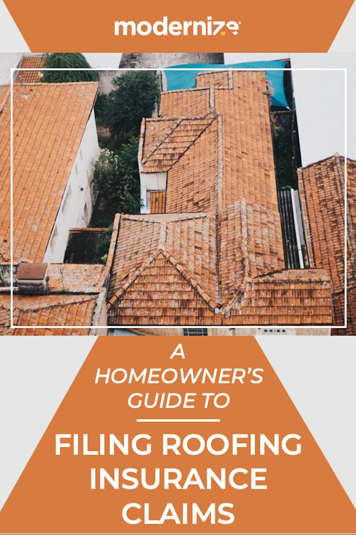 How To File A Roofing Insurance Claim Modernize Homeowners
