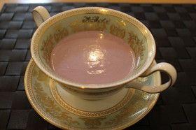 簡単で本格的紫カリフラワーのスープ
