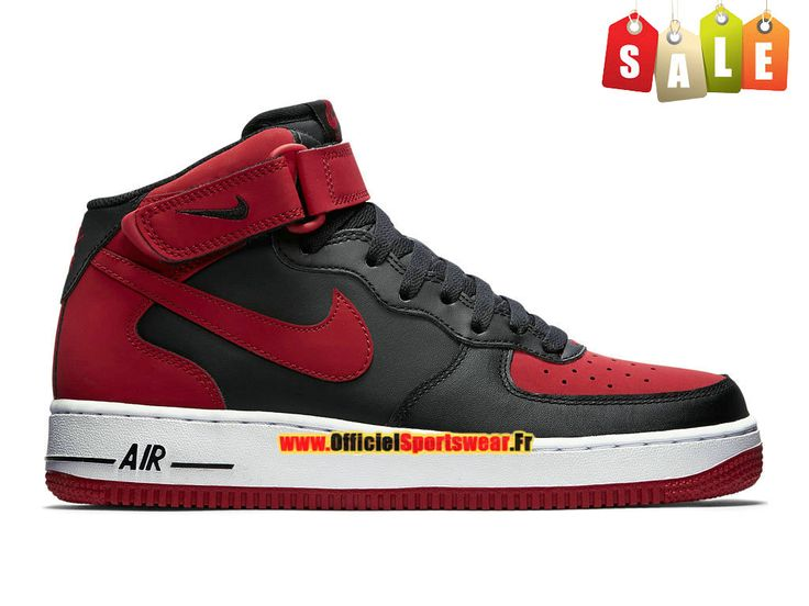 air force noir et rouge