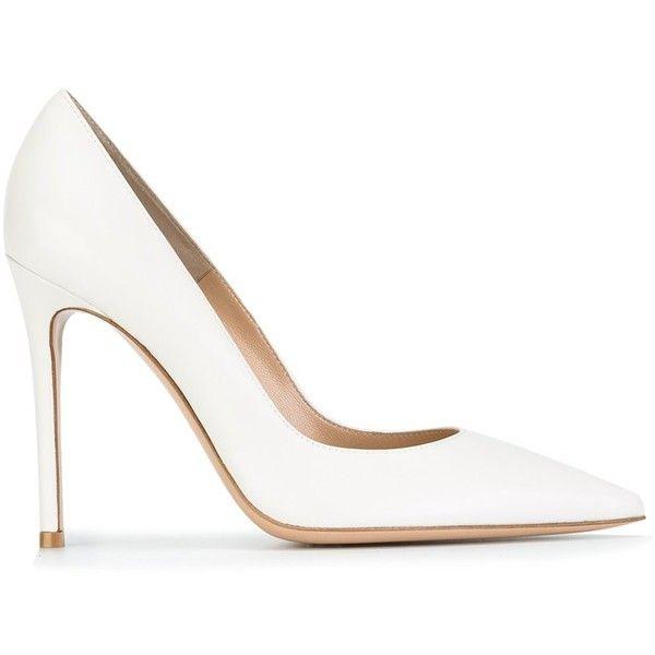 Best 25  White pumps shoes ideas on Pinterest | Cheap designer ...