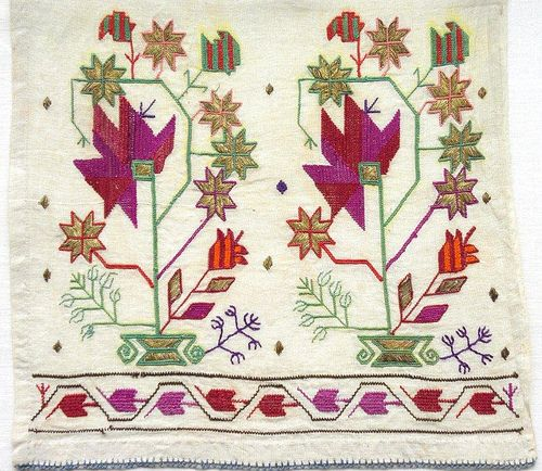 Crimean Tatar Embroidery 07 by International Committee for Crimea, via Flickr