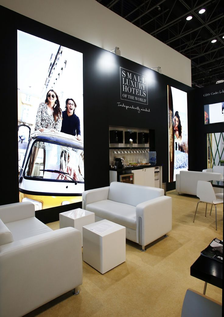 Small Luxury Hotels Stand Design by Elevations UK for ATM Dubai 2016.