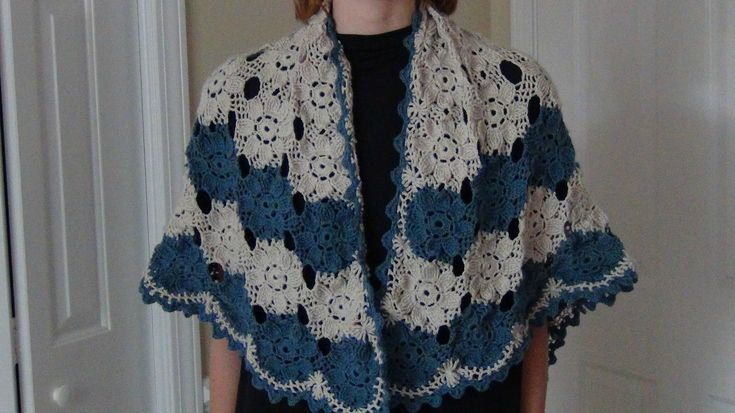 Hi there, Here is a beautiful shawl you can make. It is very light weight and a fun accessory to wear :) I will upload part 2 shortly. Curious - http://curio...