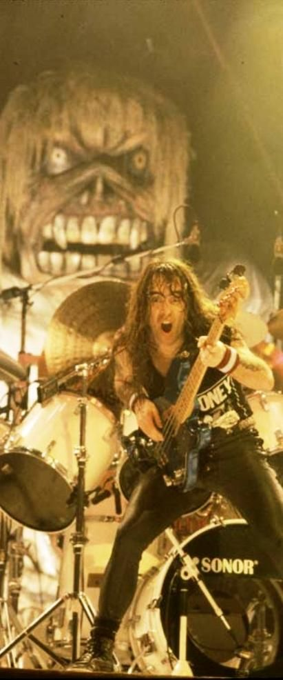 Steve Harris: IMHO one of the best bass players ever