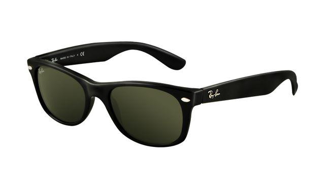 Best Buy Ray Ban RB2140 Wayfarer Sunglasses Top Black on Transparent Orange Frame Crystal Brown Gradient Lens