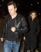 """Michael Fassbender is romancing British Olympian Louise Hazel, sources confirm to Us Weekly exclusively. The 36-year-old actor and the 27-year-old heptathlete were spotted spending time with Fassbender's pal Bradley Cooper in London on Friday, May 24...  """"Michael has been talking to her while also filming X-Men: Days of Future Past in Montreal. He comes back to London to see her."""" (Hazel placed 27th during the London Olympics in 2012.)"""
