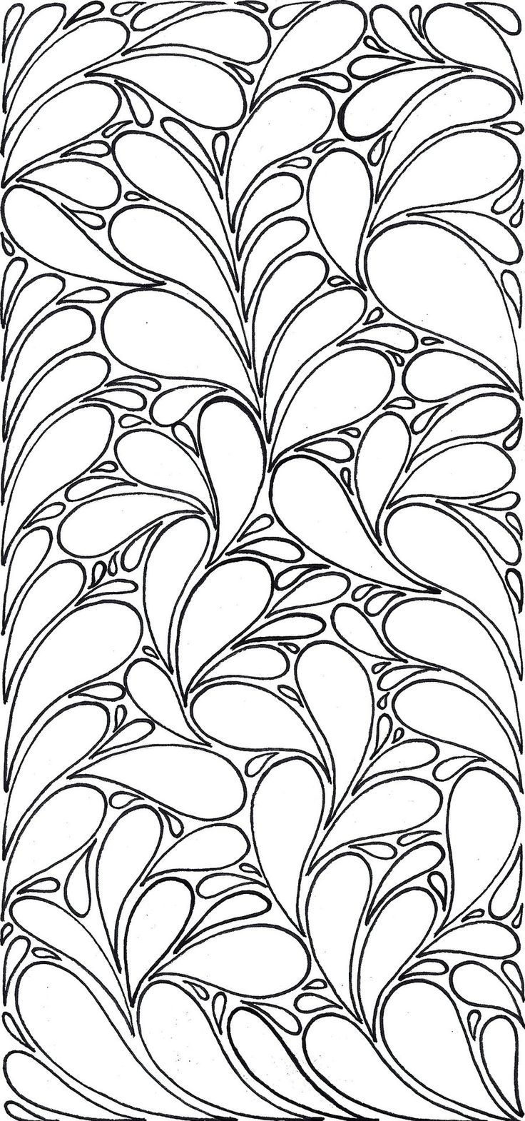 Your Way, another free printable template by Creature-of-Habit88 on deviantART.  . . .  ღTrish W ~ http://www.pinterest.com/trishw/  . . .   #doodle #paisley #teardrop