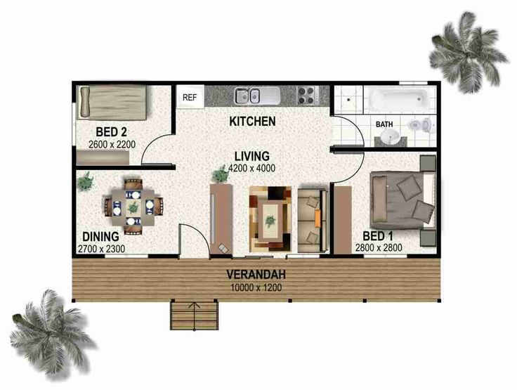 107 best images about floor plans on pinterest tiny Granny cottage plans
