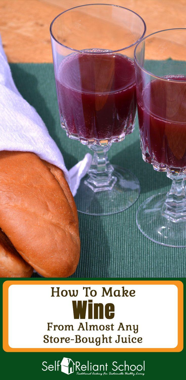 how to make wine from orange juice ausytralia