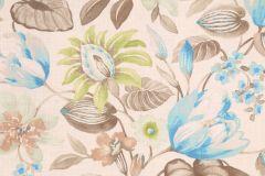 Mill Creek Raymond Waites Queens Garden  Cliffside Printed Linen Blend Drapery Fabric in Alfalfa $11.95 per yard