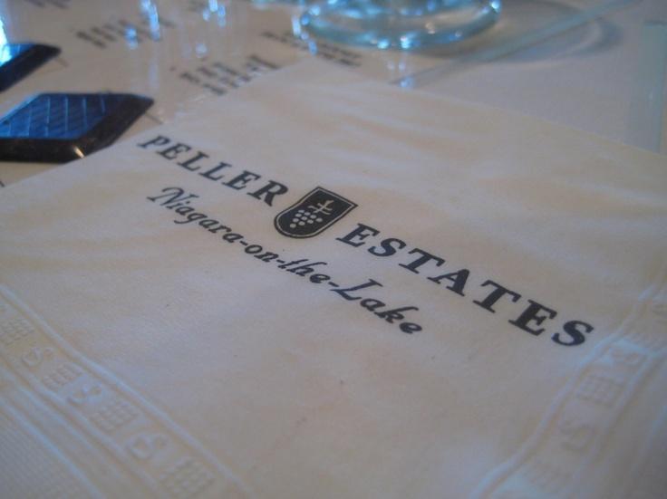 Wineries @ Niagara-on-the-lake: Peller Estates