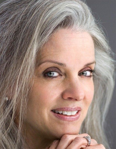 563 best images about Gray Hair Ladies on Pinterest