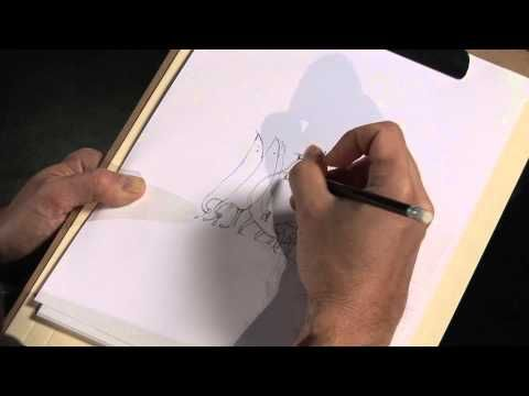 ▶ Shaun Tan draws The Lost Thing - YouTube
