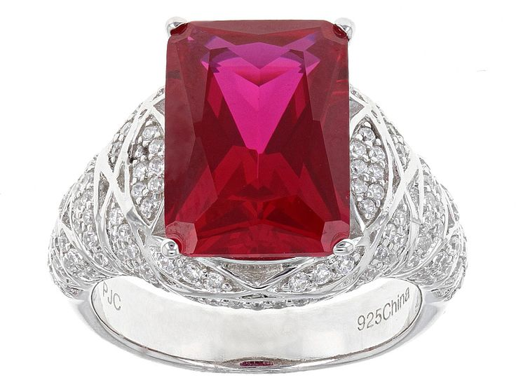 Ruby With Red Diamond Ring Jtv