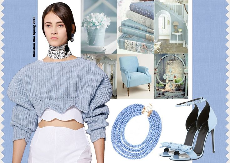 Color trends Spring 2016 - Serenity / Divatszínek 2016 tavasz - Kék nyugalom