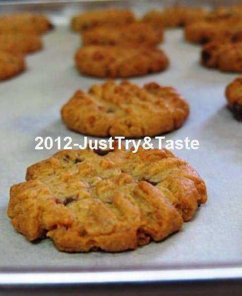 Just Try & Taste: Kue Kering Selai Kacang - Peanut Butter Cookies