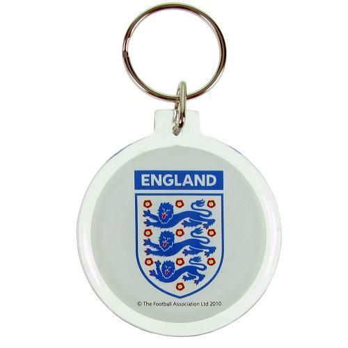 Official Licensed Football Product England FA Acrylic Crest Keyring Key Gift New  | eBay