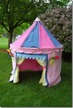 IKAT Bag -How to sew a princess tent- Featured on Today's Creative Blog 2009