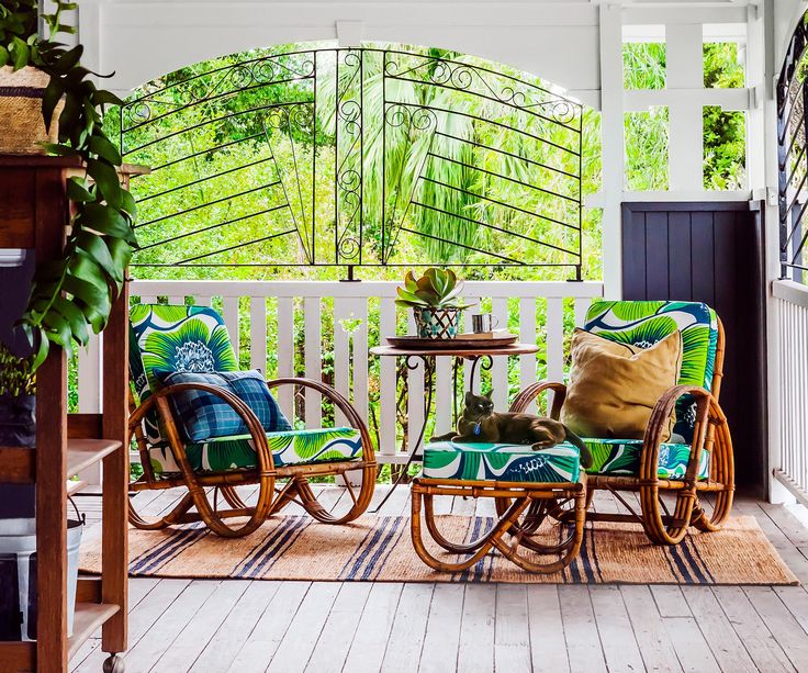 A largely original Queenslander provided a golden opportunity for a pair of serial renovators to create a comfortable family home full of personality and charm.