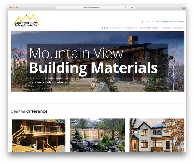 Mountain View best WordPress theme - mountainviewbm.ca