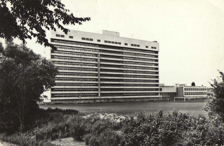 Sint Clara Ziekenhuis Olympiaweg, Rotterdam-Zuid 1969 ©TIMDOR