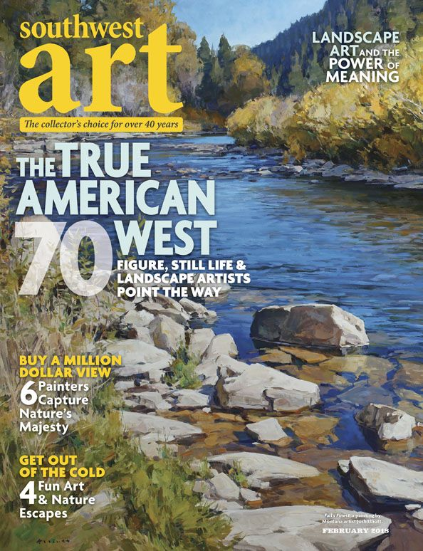 Pin Von Southwest Art Magazine Auf Our Covers Zeitschriftenkunst