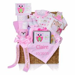 36 best personalized baby girl gifts images on pinterest baby gift gift trunk for baby girl negle Image collections