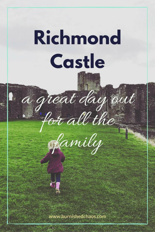 Read all about our adventures at Richmond Castle, we had so much fun