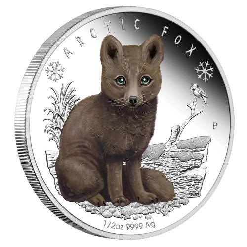 Buy Now: https://www.coincommunity.com/go/_to.asp?target=http://www.perthmint.com.au/catalogue/polar-babies-arctic-fox-2017-half-oz-silver-proof-coin.aspx  Perth Mint New Release: Polar Babies - Arctic Fox 2017 1/2oz Silver Proof Coin - Coin Community Forum