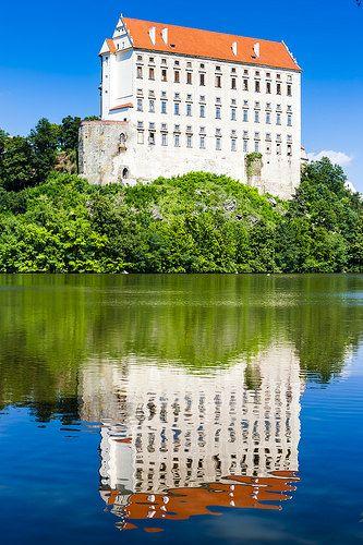 Plumlov Palace, Czech Republic   #worldtravel #castles #castlesoftheworld #europeancastles