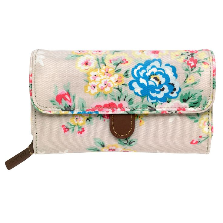 Candy Flowers Folded Trimmed Wallet   Cath Kidston  