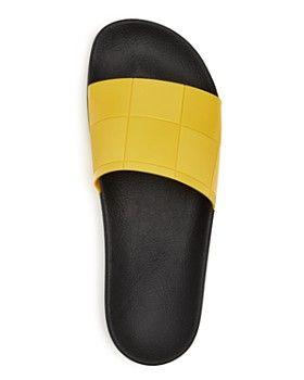 4acf211659fc Raf Simons for Adidas - Men s Adilette Checkerboard Slide Sandals ...