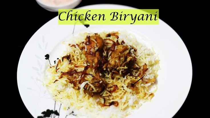 Chicken Biryani Recipe in Hindi | Hyderabadi Chicken Dum Biryani Step by Step - YouTube
