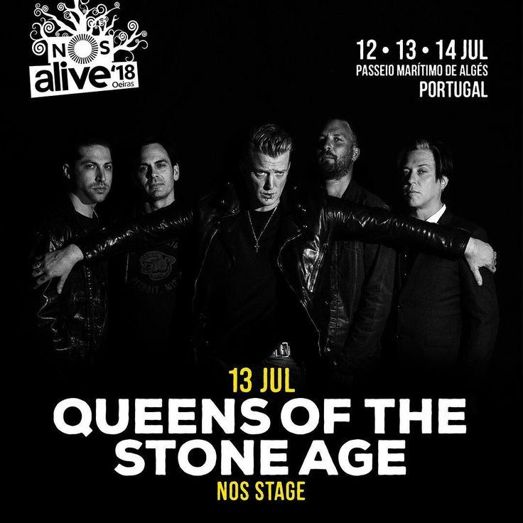 US rock band Queens of the Stone Age wil play NOS Alive Festival 2018