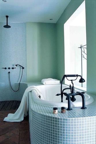 Les 25 meilleures id es de la cat gorie salle de bains sous les escaliers sur pinterest - Cherche meuble de salle de bain ...