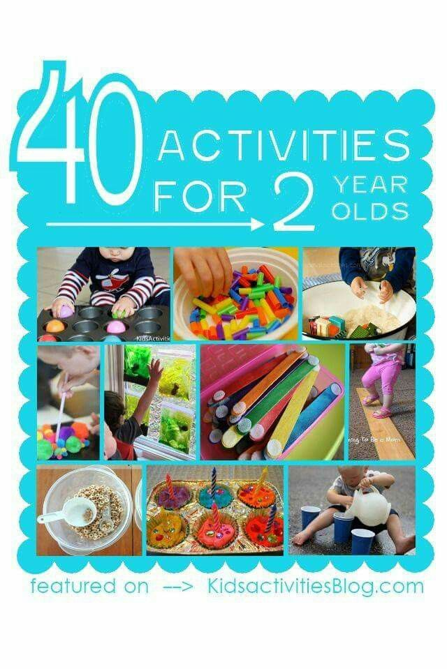 Things to do with 2 year olds