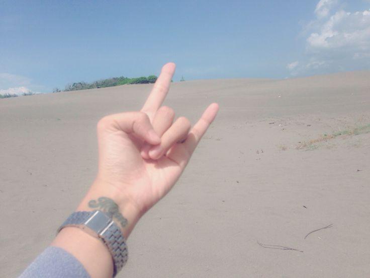 Sand hill  Indonesian hill, we call it gumuk pasir #yogyakarta