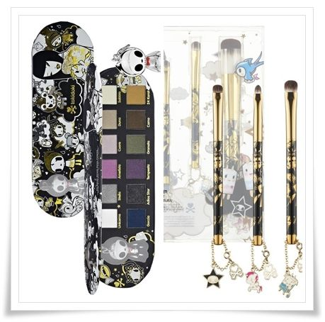 I'm not a palette person, but I am totally considering this Tokidoki Palette!  It looks by far the most wearable palette I've seen.  I'd probably also get the brush set too... :)  starts at $39