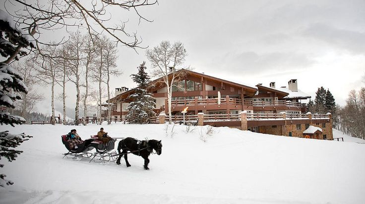 Park City, Utah is on my list of places to see before you die.  I love the Stein Eriksen Lodge and would love to stay there.  I'd go in the summer or the winter just for a relaxing getaway!