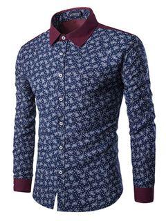 Impresión de camiseta multicolor que forma la camisa de algodón para hombres