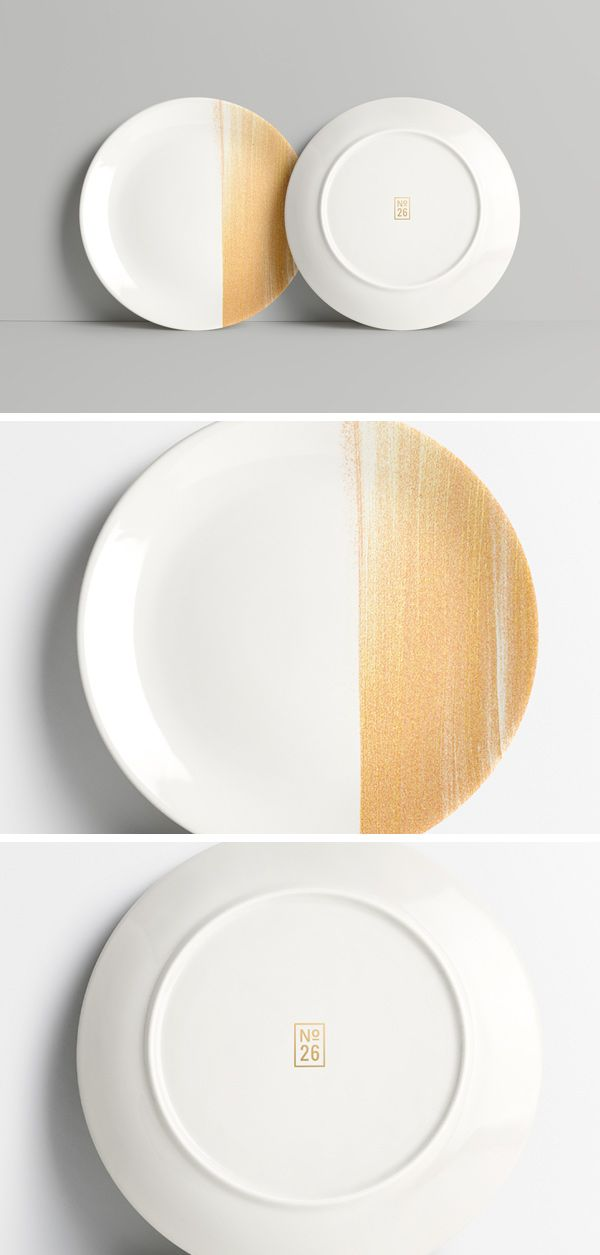 Today we have for you a photorealistic mock-up of a round plate with front and back views to help you present your artwork...