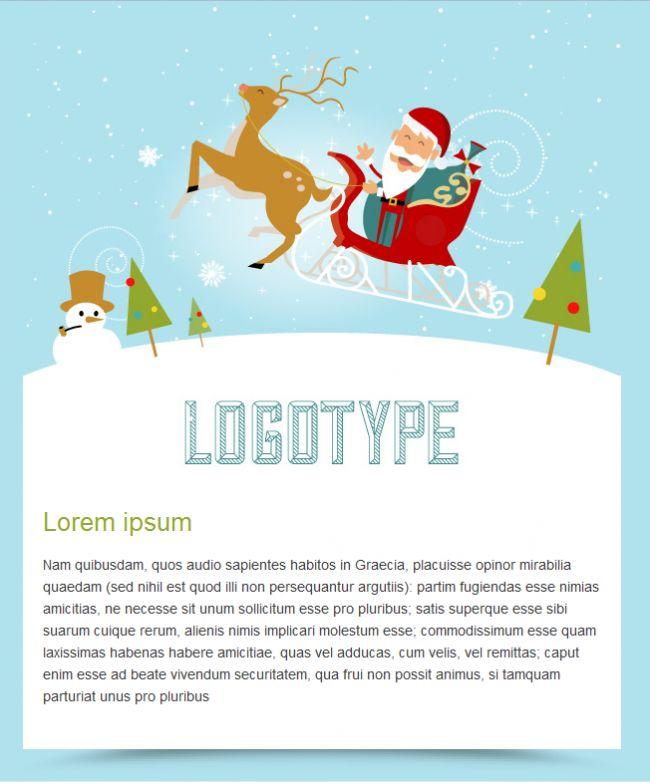 Felicita las fiestas vía mailing con nuestras nuevas plantillas HTML