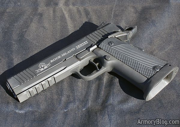 Rock Island Double Stack Tactical 1911, yes i do think so!!!