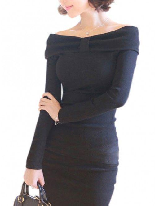 Off-The-Shoulder T-shirt Dress a webshopban http://j.mp/tf-off-the-shoulder-t-shirt-dress #divat #fashion #tanitafashion #ruha #clothes