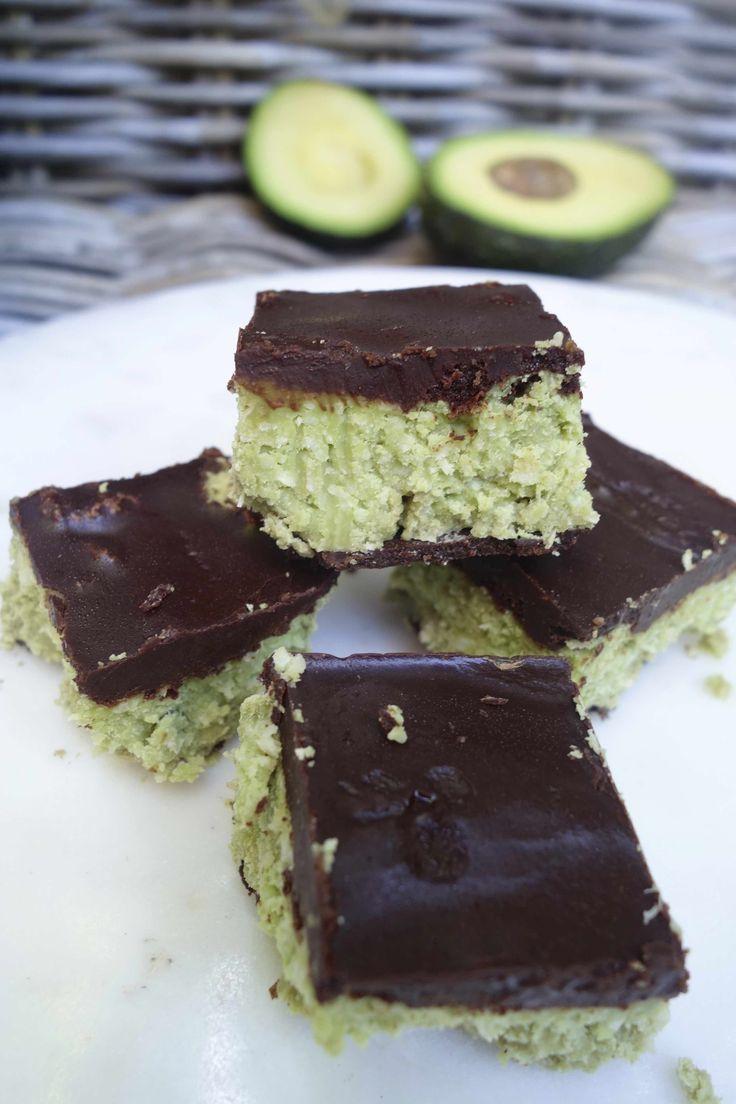 Chocolade avocado brownies ♡ Glutenvrij zuivelvrij en zonder geraffineerde suiker