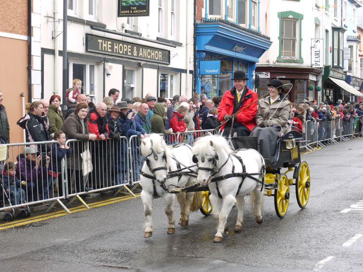 Barley Saturday parade Cardigan