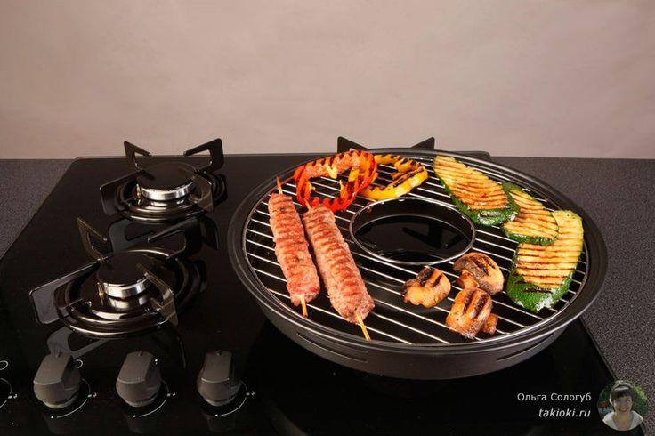 Что такое сковорода гриль газ, как на ней готовить, плюсы и минусы этой чудо сковородки - http://takioki.ru/skovoroda-gril-gaz/