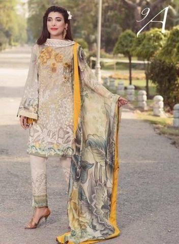 4032dd5a79 Rangrez Lawn Collection, Ladies Replica Suits, Replica Shop Online ...