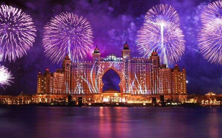 Новогодний фейерверк в Дубае - Интернет журнал - GOOD WEEK