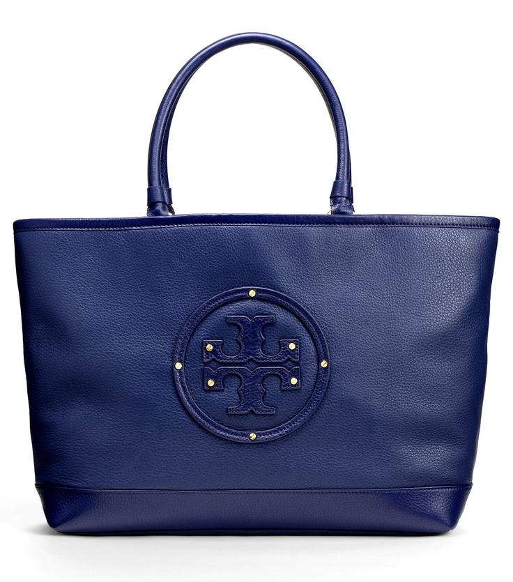 Tory Burch Maisey Shopper: Burch Totes, Shopper Handbags, Navy Blue Handbags, Tory Burch, Awesome Handbags, Maisey Shopper, Burch Maisey, Rich Colors, Burch Nmfalltrend
